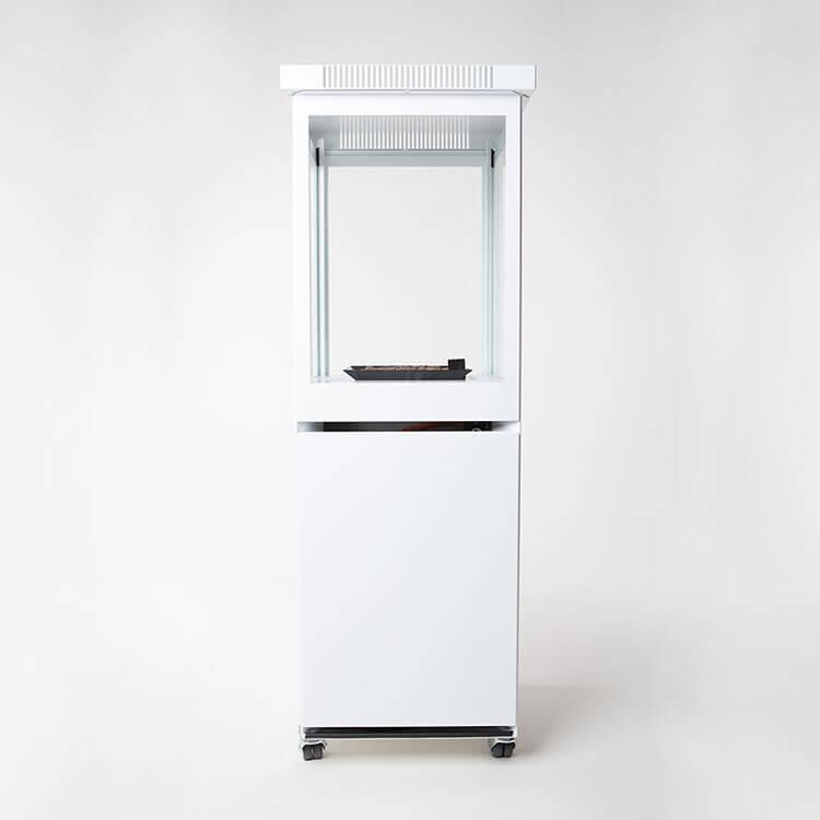 Marino Gas Heater (White) Timeless Design