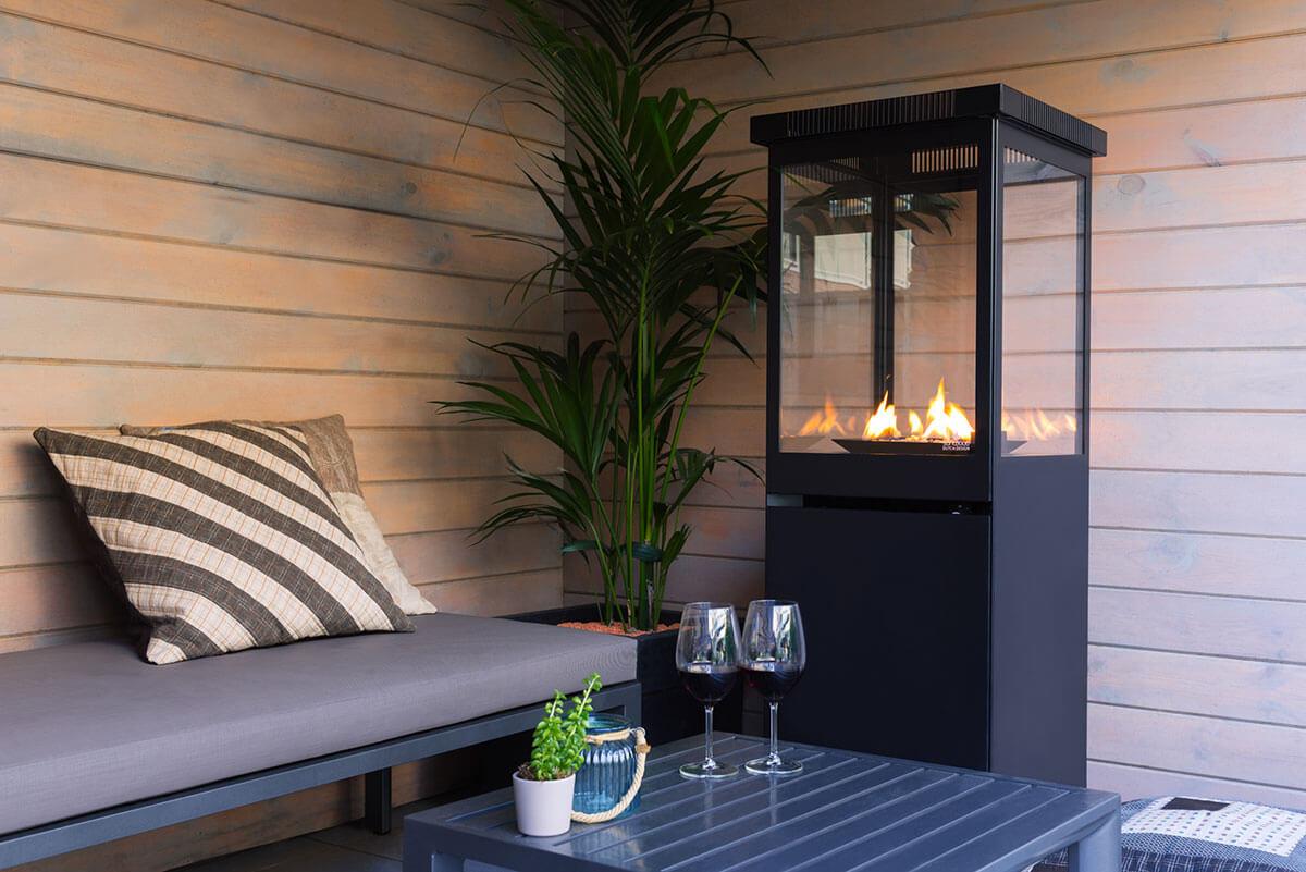 Sunwood Marino Patio heater on gas